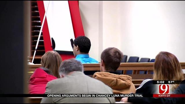 Opening Arguments Begin In Chancey Luna Murder Trial