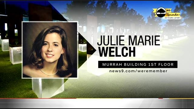 We Remember – 20 Years Later: Julie Welch