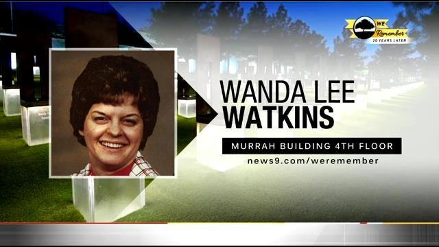 We Remember – 20 Years Later: Wanda Watkins