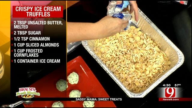 Crispy Ice Cream Truffles