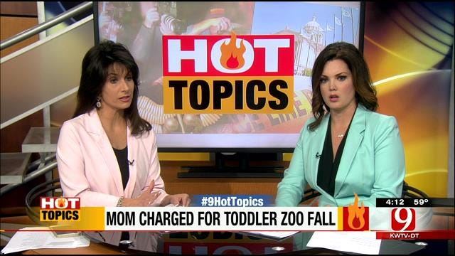 HOT TOPICS: Mother Drops Child In Cheetah Pit