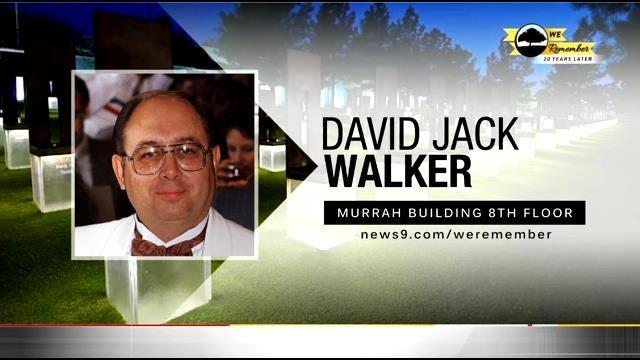 We Remember - 20 Years Later: David Walker