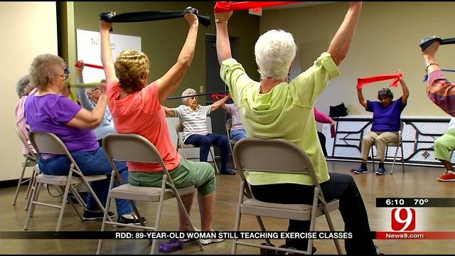 Red Dirt Diaries: Metro 89-Year-Old Teaches & Inspires In Workout Class