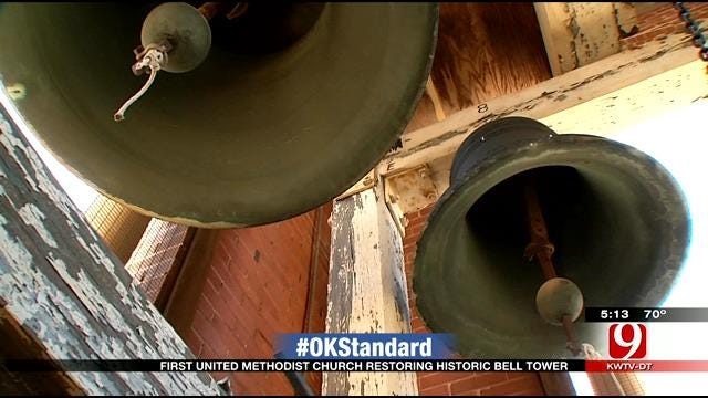 Church Bells Survived OKC Bombing, Now Being Replaced
