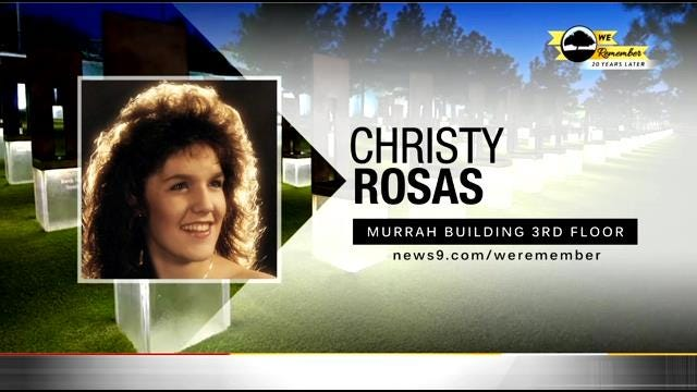We Remember - 20 Years Later: Christy Rosas