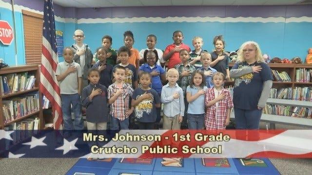 Ms. Johnson's 1st Grade Class at Crutcho Public Schools