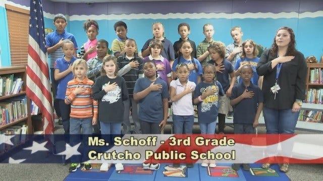 Ms. Schoff's 3rd Grade Class at Crutcho Public Schools