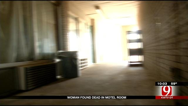 Woman Found Dead In OKC Motel Room