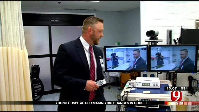 Young Hospital CEO Making Big Changes In Cordell