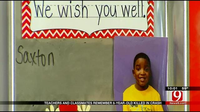 Teachers and Classmates Remember 6-Year-Old Killed In Crash