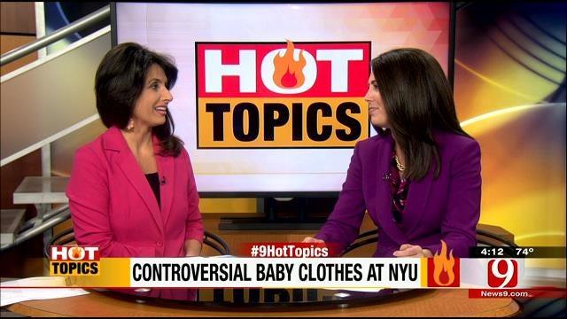 Hot Topics: Controversial Baby Clothes At NYU