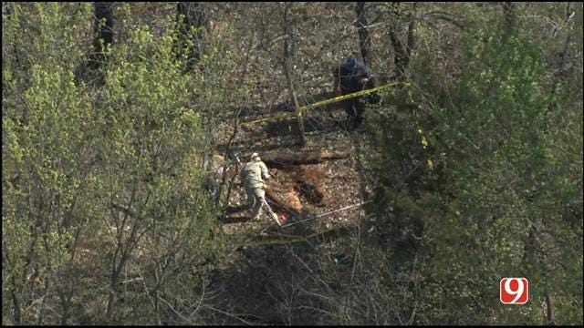 WEB EXTRA: SkyNews 9 Flies Over Search For Remains In Lincoln County