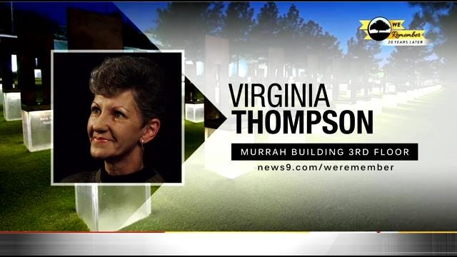 We Remember - 20 Years Later : Virginia Thompson
