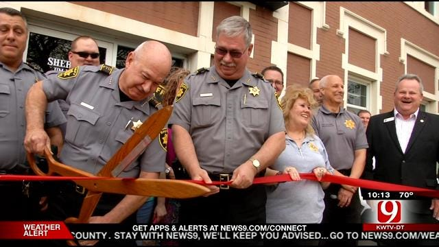 Grady County Sheriff's Department Moves Into New Building