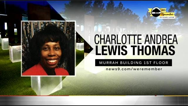 We Remember - 20 Years Later: Charlotte Thomas