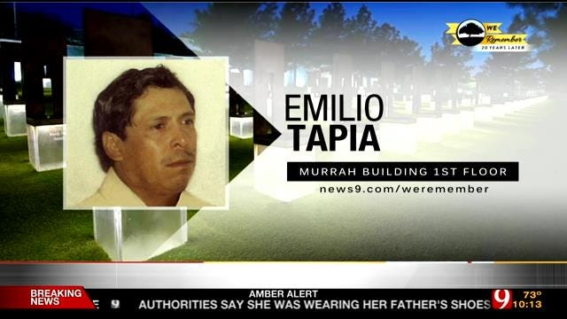 We Remember – 20 Years Later: Emilio Tapia