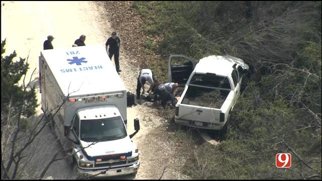 WEB EXTRA: SkyNews 9 Flies Over Officer-Involved Shooting In Pottawatomie County