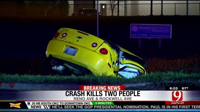 Three Dead After Crash In NW OKC