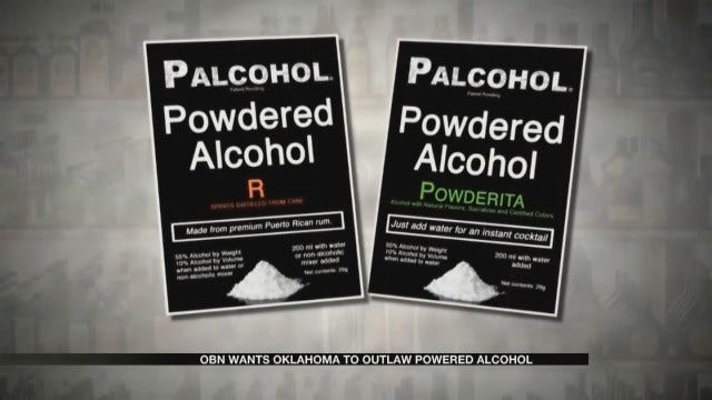 Some OK Authorities Want To Outlaw Powdered Alcohol