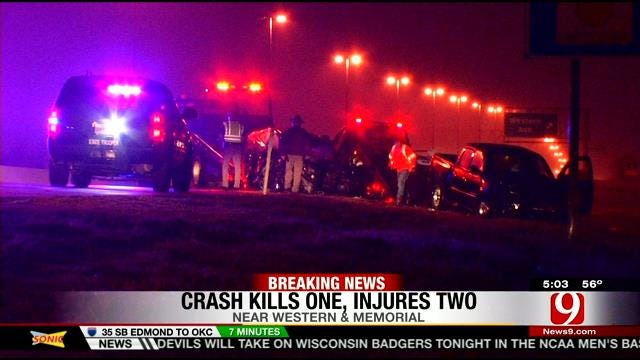 Hit-And-Run Leads To Wrong-Way Crash In NW OKC