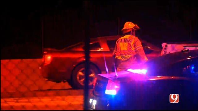 Crews Respond To Injury Crash On I-35 SB Near 15th In Edmond