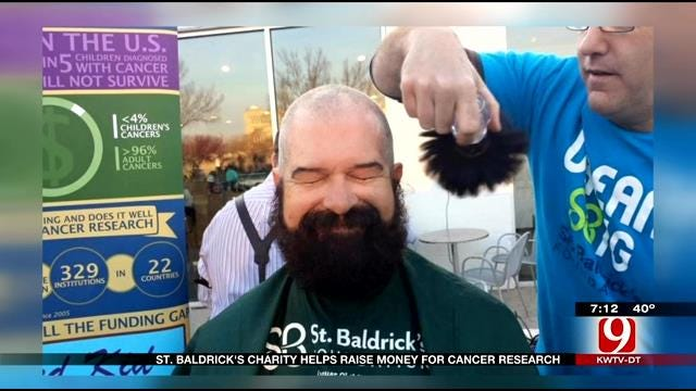 St. Baldrick's Charity Helps Raise Money For Cancer Research