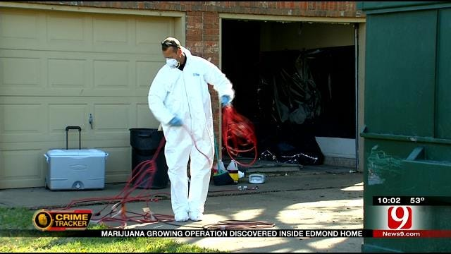 Edmond Police Investigate Sophisticated Marijuana Growing Scheme