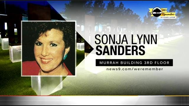 We Remember - 20 Years Later: Sonja Sanders