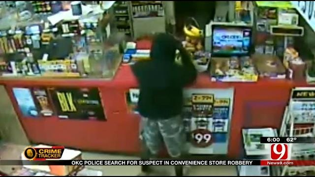 Police Search For Man Who Robbed NE OKC Convenience Store