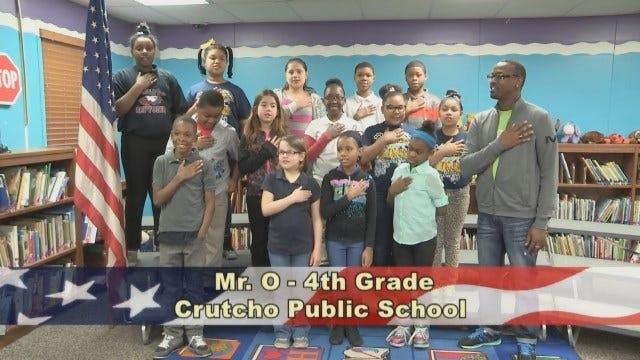 Mr. O's 4th Grade Class At Crutcho Public Schools