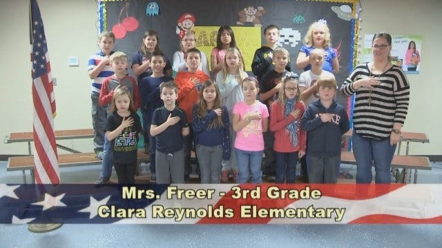 Mrs. Freer's 3rd Grade Class At Clara Reynolds Elementary School