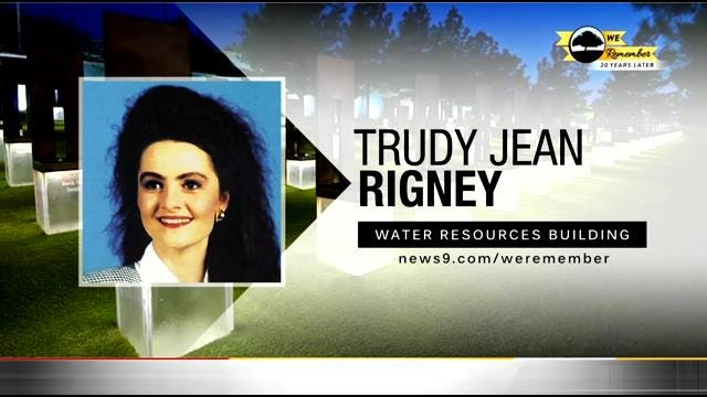 We Remember - 20 Years Later: Trudy Rigney