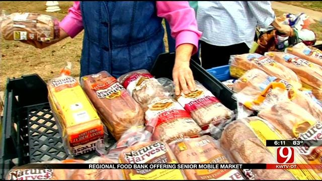 Fresh Mobile Market Feed Hungry Oklahoma Seniors