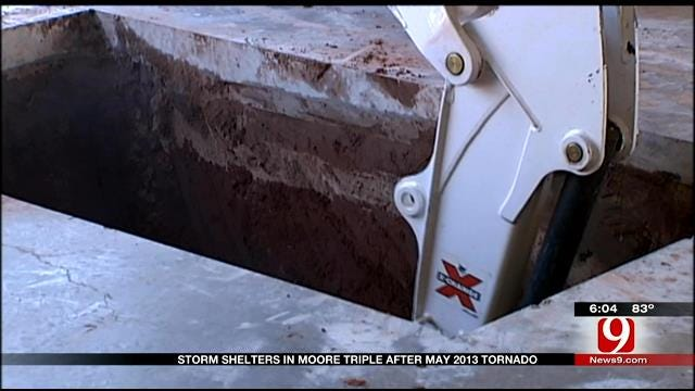 Storm Shelters In Moore Tripled Since May 2013 Tornado