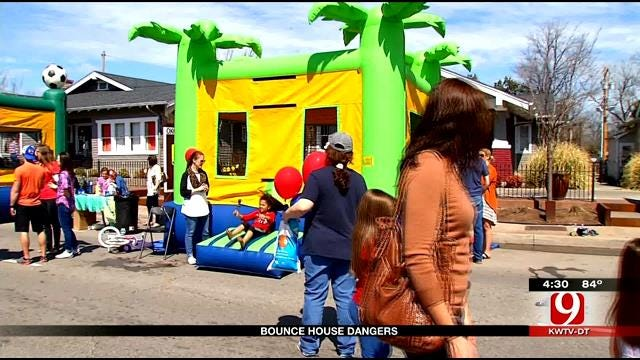 Medical Minute: Bounce House Dangers