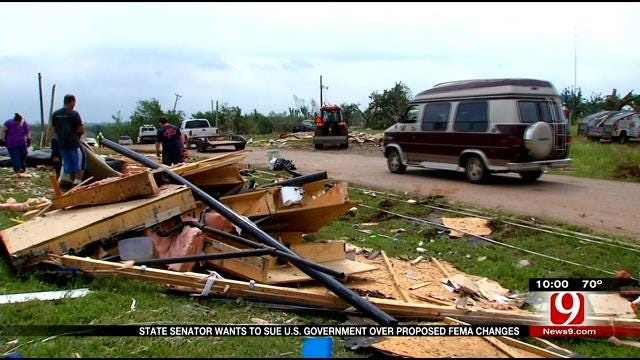 State Senator Wants To Sue US Government Over Proposed FEMA Changes