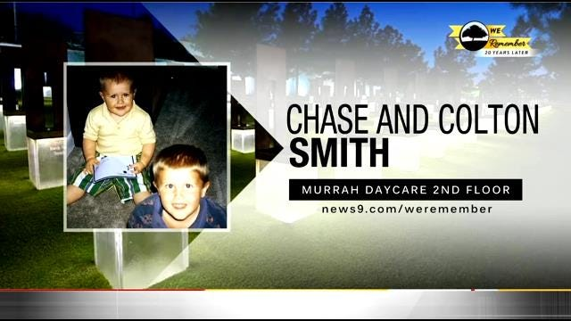 We Remember - 20 Years Later: Chase and Colton Smith