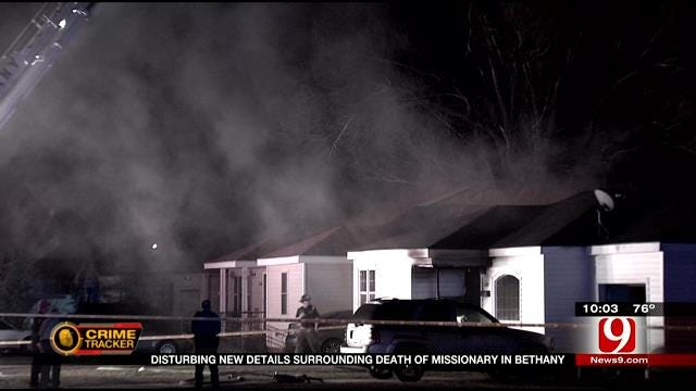 Authorities: Bethany Victim's Throat Slashed And Body Charred