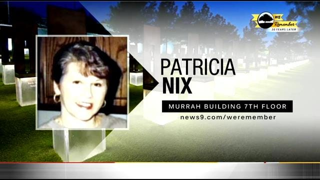 We Remember – 20 Years Later: Patricia Nix