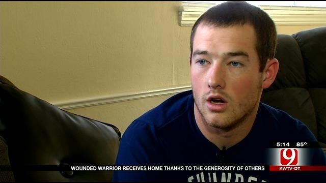 Wounded Warrior Gets New Home Thank To Generosity Of Others