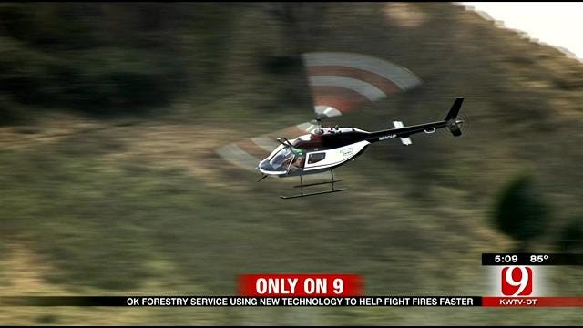 OK Forestry Service Using New Technology To Help Fight Fires