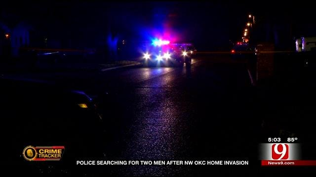 Police Searching For Two Men After NW OKC Home Invasion