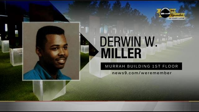 We Remember - 20 Years Later: Derwin Miller