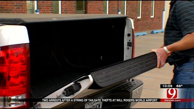 Two Accused Of Stealing Tailgates At Will Rogers World Airport