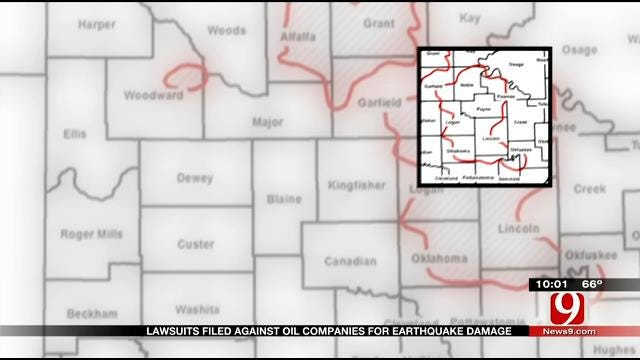 Lawsuit Takes Aim At OK Oil Companies For Increased Earthquake Activity