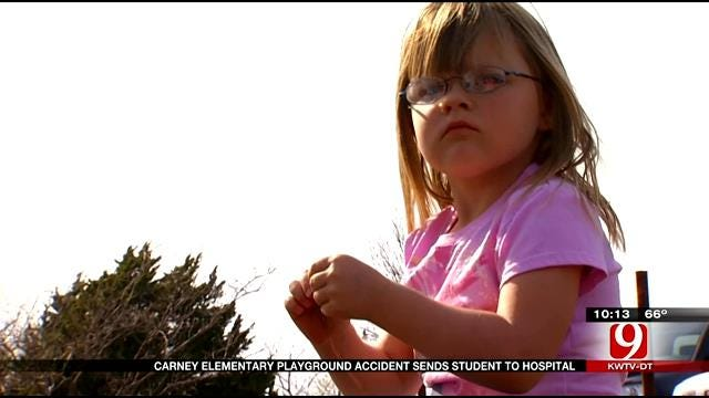 Carney Girl Doing Well After Major Fall