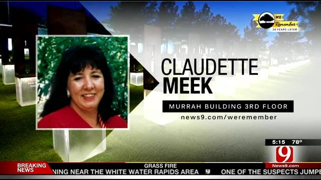 We Remember - 20 Years Later: Claudette Meek