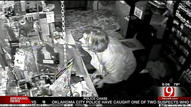 Suspect Caught On Camera Robbing NW OKC Smoke Shop