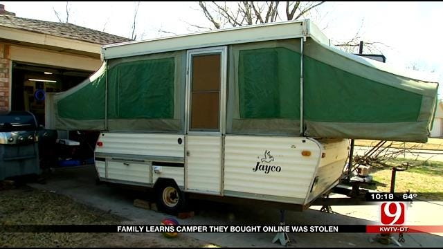 Yukon Family Learns Camper They Bought Online Was Stolen