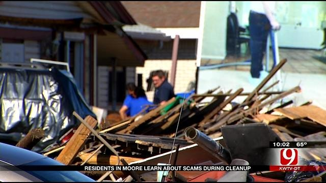 Insurance Agents Warn Of Potential Scams After Moore Tornado